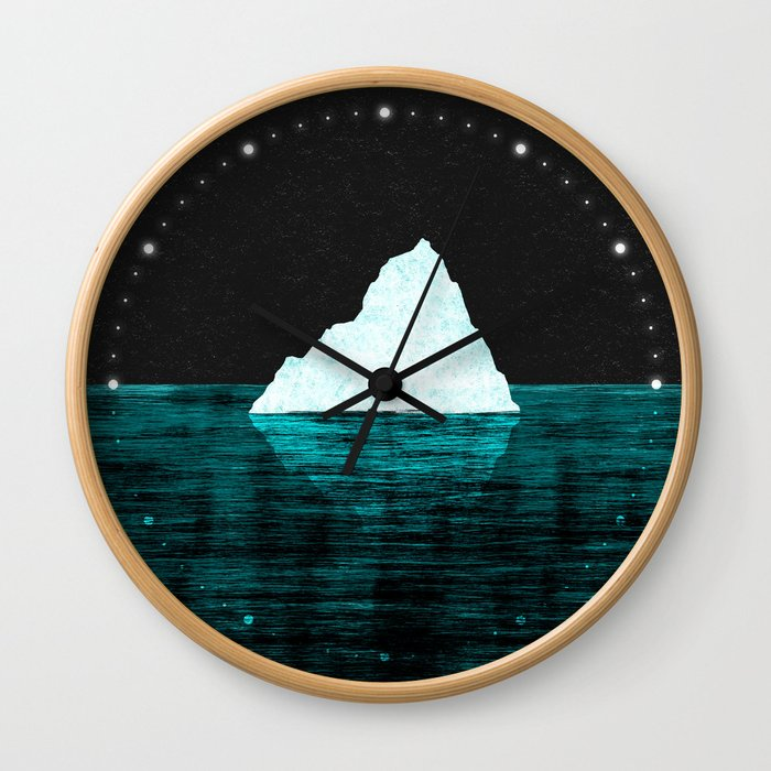 ICEBERG AHEAD! Wall Clock
