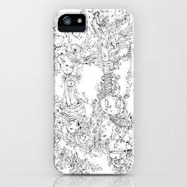 Pasolini`s Garden iPhone Case