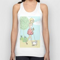 icecream Tank Tops featuring Icecream by Marisa Marín
