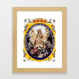 NUESTRA SENORA Framed Art Print