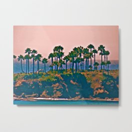 Corona Del Mar, California  Metal Print