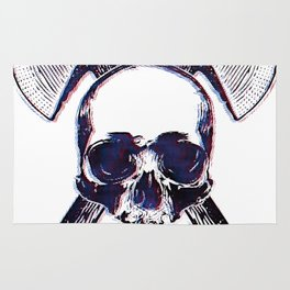 Axe Skull Rug
