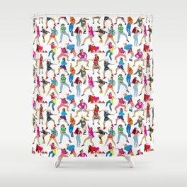 Dance, Dance, Dance! Shower Curtain