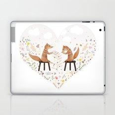 fox philosophers Laptop & iPad Skin