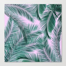 Musk and Palms Canvas Print