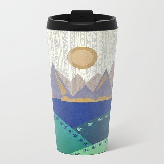 Textures/Abstract 130 Metal Travel Mug