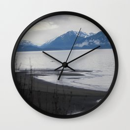 Solitude :: A Lone Kayaker Wall Clock