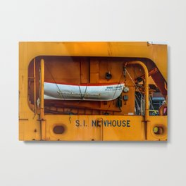 The Ferry Boat Newhouse Metal Print
