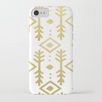 nordic iPhone & iPod Cases featuring GOLD NORDIC by Nika