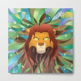 Spirit of The Lion King Metal Print