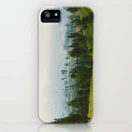 Fields of Tiny Trees iPhone Case