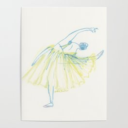 A Ballerina Poster