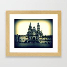 catedral de santiago Framed Art Print