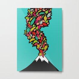 Volcanic Autumn Metal Print