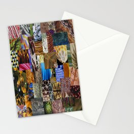 Collage - Tiled Stationery Cards