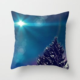 Snowtopian Dysfall Throw Pillow