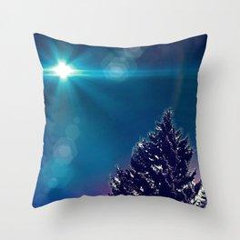 Snowtopian Dysfall Throw Pillow