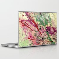 champagne Laptop & iPad Skins featuring Champagne by Vinn Wong - Original Abstract Art