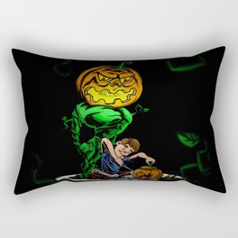 Pumpkin Head Rectangular Pillow