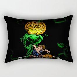 Pumpkin Head Rectangular Pillow