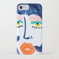 mod iPhone & iPod Cases featuring Mod Girl by Bouffants and Broken Hearts