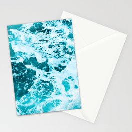 Deep Turquoise Sea - Nature Photography Stationery Cards