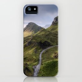 The Road to the Quiraing IV iPhone Case