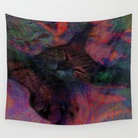 sleep Wall Tapestries featuring sweet sleep by  Agostino Lo Coco