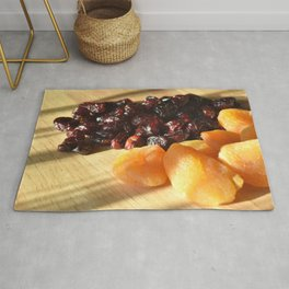 Apricots and cranberries Rug