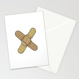 The X Letter Stationery Cards