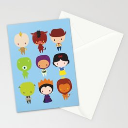 GorjiraProject: Diz-knee pt 1 Stationery Cards