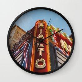 Los Angeles Rialto Theatre Wall Clock