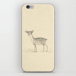 Monochrome Deer iPhone Skin