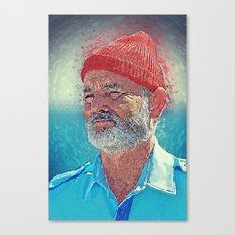 Steve Zissou Canvas Print