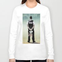 bill Long Sleeve T-shirts featuring the Bill by Vin Zzep