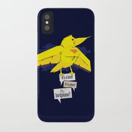 Birdplane iPhone Case