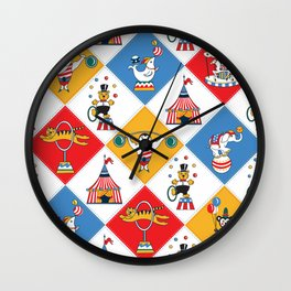 Baby Circus Wall Clock