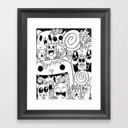Lots of Lollies Framed Art Print