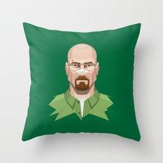 Breaking Bad - Walter White Beaten Up Throw Pillow