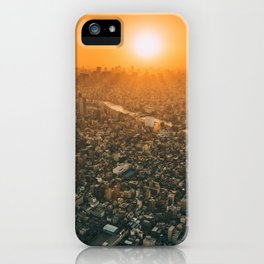 City and the sky iPhone Case