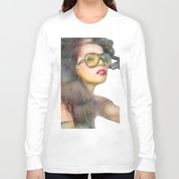 fierce Long Sleeve T-shirts featuring Fierce by Lil'h