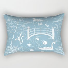 Swan Rectangular Pillow