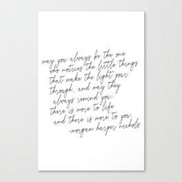 May you always Leinwanddruck
