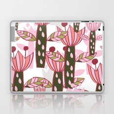 flower pink contemporary kids nursery Laptop & iPad Skin