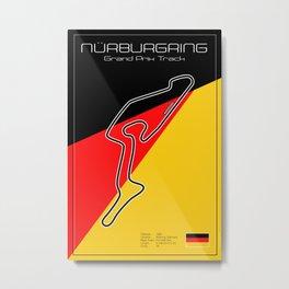 Nurburgring Grand Prix Circuit Metal Print