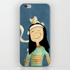 Marcela iPhone & iPod Skin