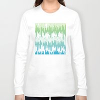 trippy Long Sleeve T-shirts featuring Trippy Drippys by Joe Van Wetering