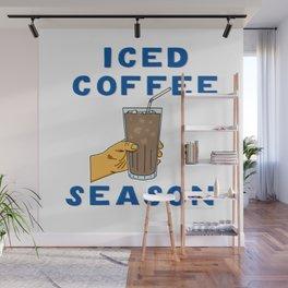 Iced Coffee Season Wall Mural