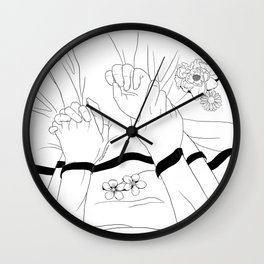 Pin You Down Wall Clock