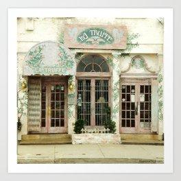 La Truffe ~ French Brasserie Art Print